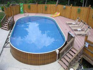 piscine en kit hors sol