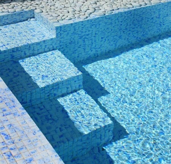 revetement pate de verre piscine