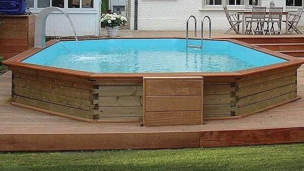 piscine structure bois
