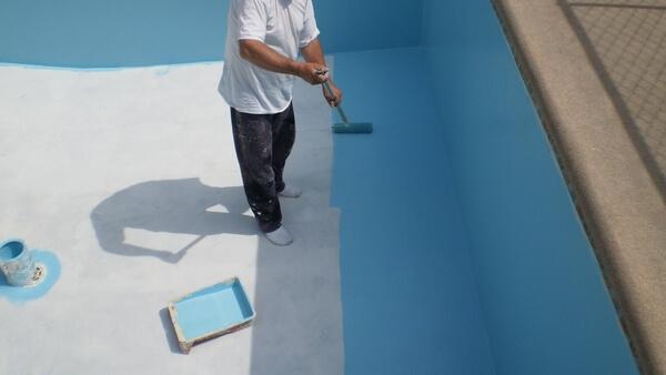 revetement peinture piscine