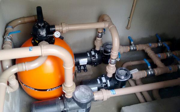 filtration de piscine